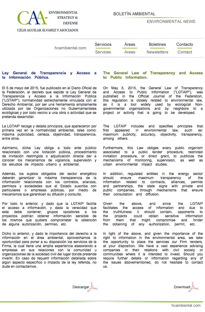 1 Ley General de Transparencia y Acceso a la Información Pública 15 May