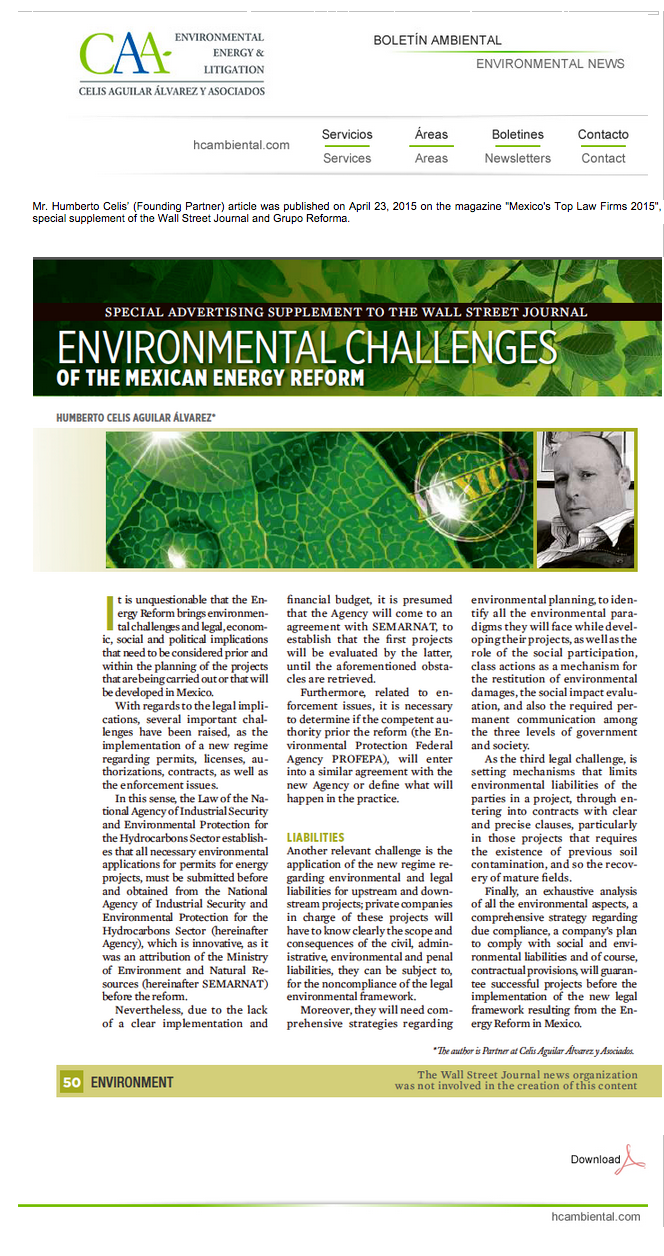 2 Environmental Challenges of the Mexican Reform 30-Abr