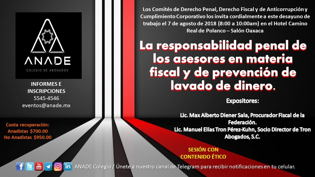 Invitación_Comités Penal_Fiscal_Anticorrupción_7 de agosto 2018