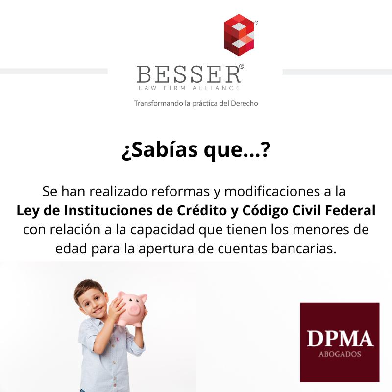 DPMA-Sabías que... Ley de Instituciones de Crédito y Código Civil Federa